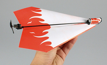 Electric Paper Kid Plane Airplane Conversion kit Fashion Educational Toys Great Gift