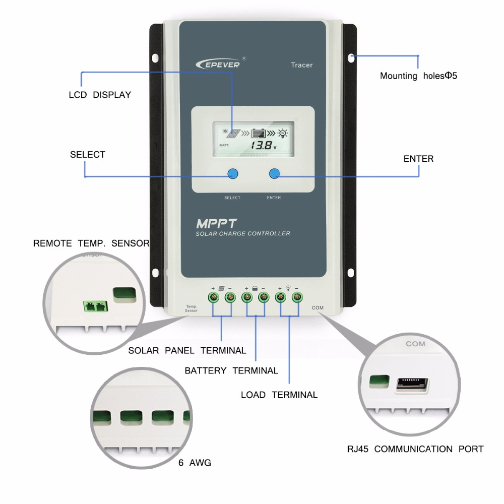 Solar Ep Wiring Diagram Trusted Diagrams 12v Charge Controller Aliexpress Com Buy 20a Epsolar Mppt Regulator 24v Pump