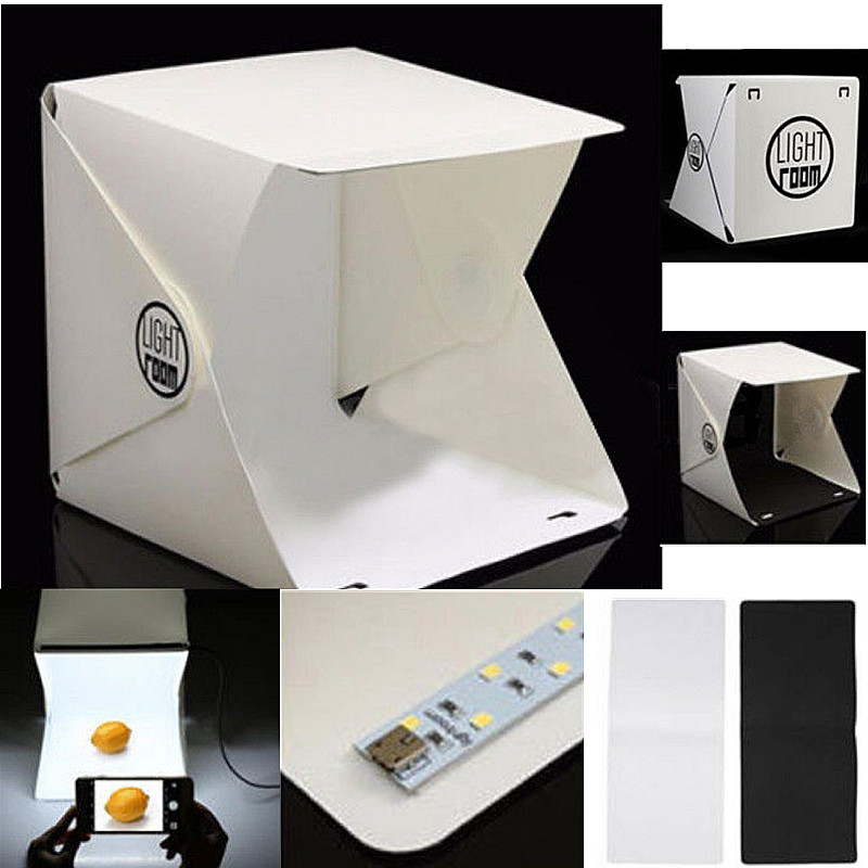 Portable Compact Photo Studio Tent Light Kit
