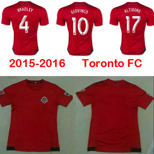 purchase cheap c6619 65282 Best thai quality Toronto fc jersey soccer 15 16 new ...