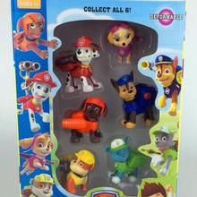 2016 New Canine Patrol Dog Toys Russian Anime Doll Action Figures Car Patrol Puppy Toy Patrulla