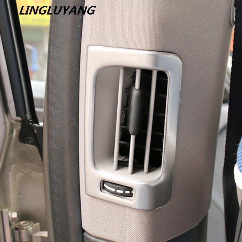 2010-2017 Nerezová klimatizace větrací kryt obložení pruhu vnitřní nástěnná deska nástěnné dekorace 3D pro volvo xc60