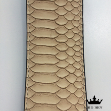 Electric guitar good partner PU leather belt straps acoustic bass strap stamping imitation snakeskin Stone texture