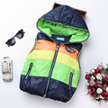 2017 Autumn Boy Vests Jacket Kids Clothes Character Fashion Children Clothing Hooded Waistcoats Casual Baby Boys Vest Coats
