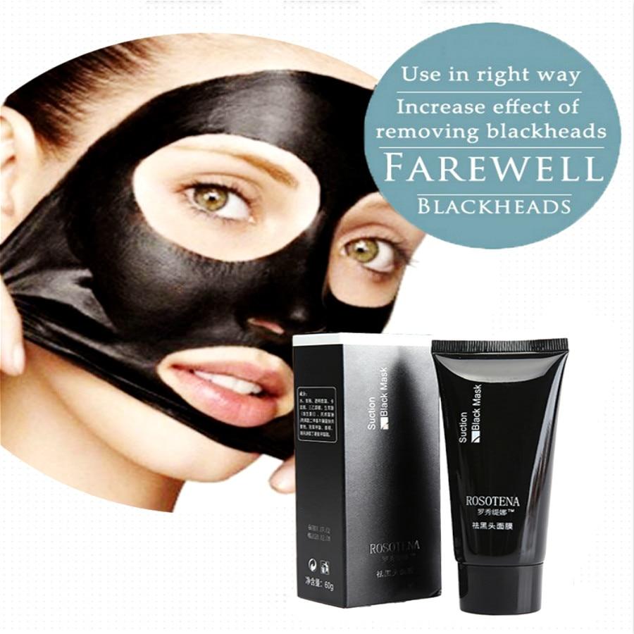 Deep Cleansing Skin Blackhead Odstranění Léčba akné Černá bahenní maska na tvář Nose Maska na obličej Black Head Blackhead Remover Mask