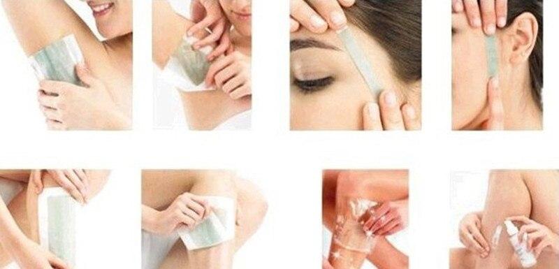 dobro da remoção do cabelo depilador cera