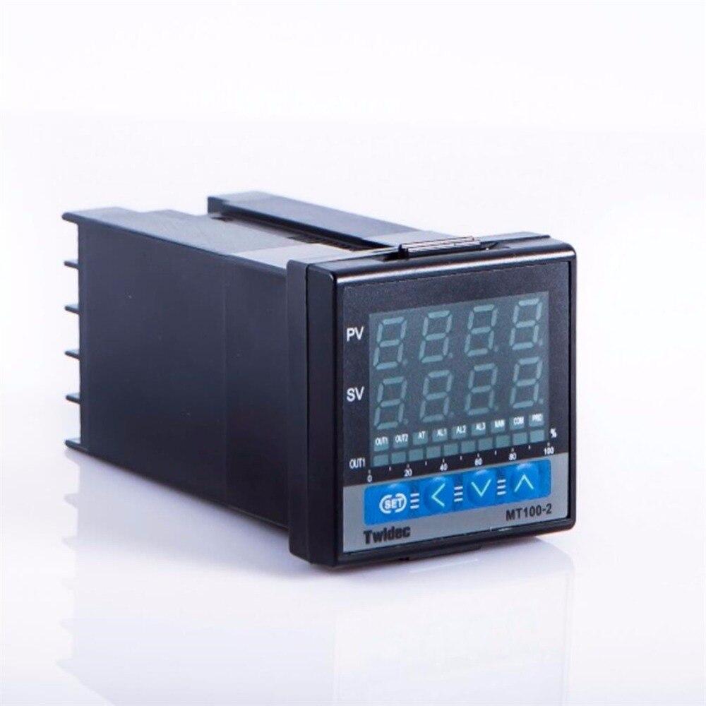 Alta qualidade de Saída SSR MT100-2 Controle PID Controlador De temperatura Termostato Digital Termometro 48*48 sensor de Temperatura