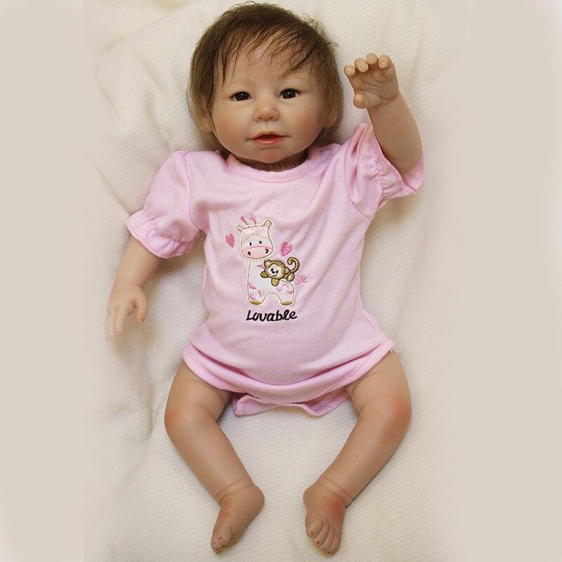 OtardBebe Reborn Dolls Toy Bonecas 20inch Soft Silicon Vinyl Reborn baby Doll Lifelike Newborn Babies Doll