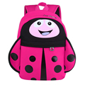 Kids Cartoon Insect Backpack Kindergarten Cute Schoolbag for Girls Boys Ladybug Fahion Printing Small Baby Bags