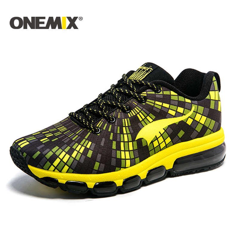 ONEMIX 2018 spring new Running Shoes men cushion sneaker outdoor sport shoes women Outdoor Walking Shoes for men Free Shipping