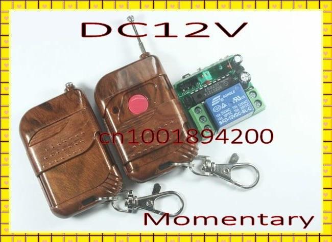 12v 1ch Access Control Auto Door Lock Wireless Remote