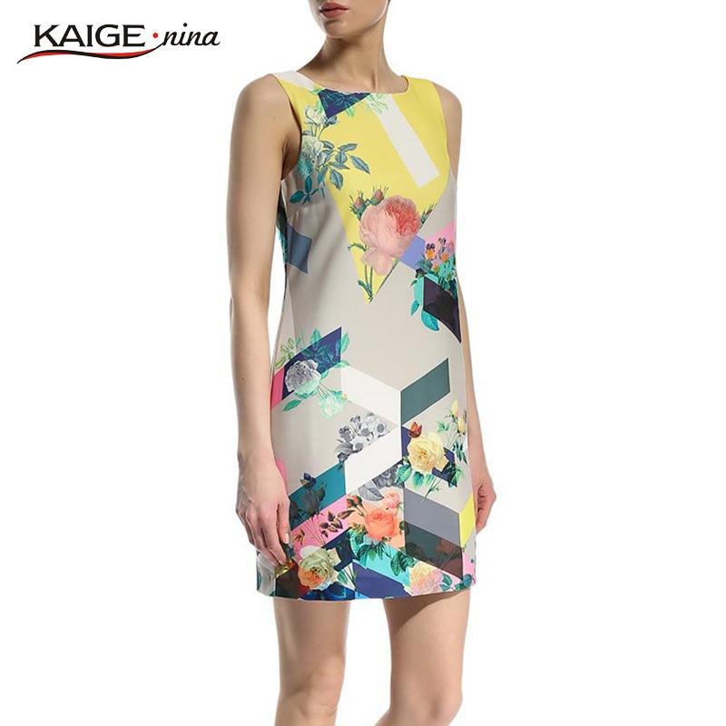 Kaigenina nueva venta caliente de la manera de las mujeres vestidos sin mangas d