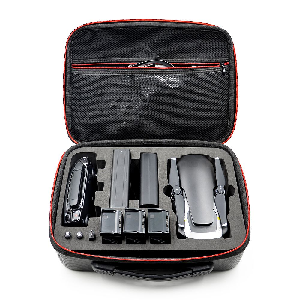TFTP-Waterproof Storage Bag Hardshell Handbag Case for Carrying DJI MAVIC Air Drone & 3 Batteries and Accessories Carry Bag safety transport travel hardshell drone case for dji goggles vr glasses mavic pro bag for dji spark box storage accessories