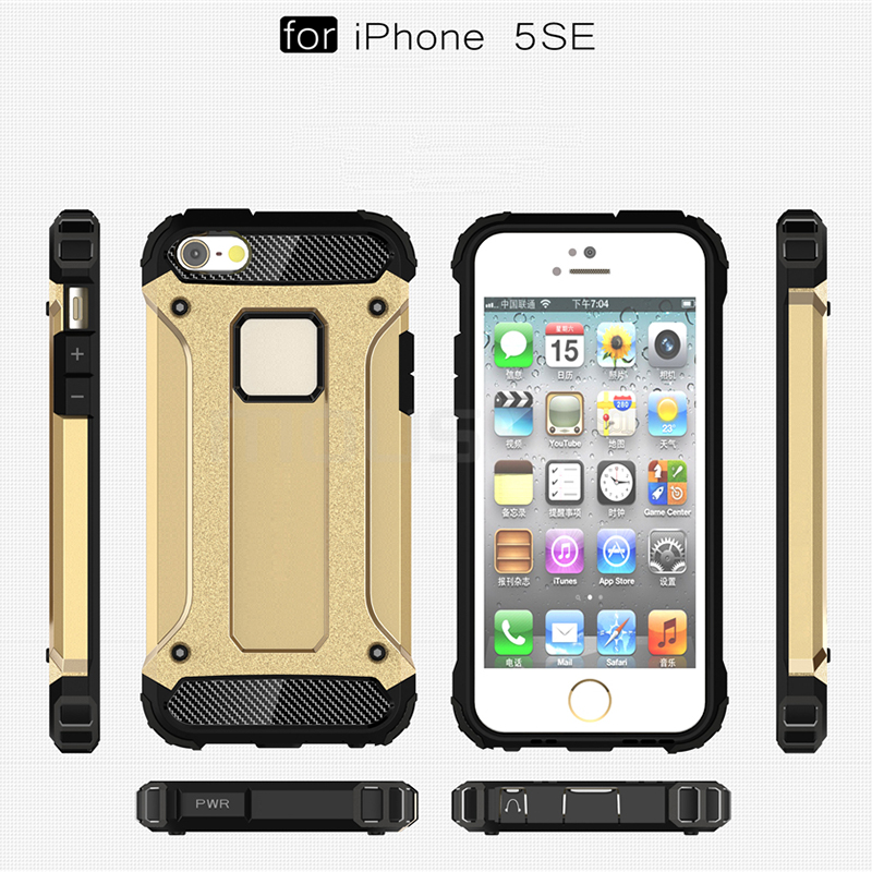 iPhone 5s Case Silicone Luxury Shockproof Case Cover 4
