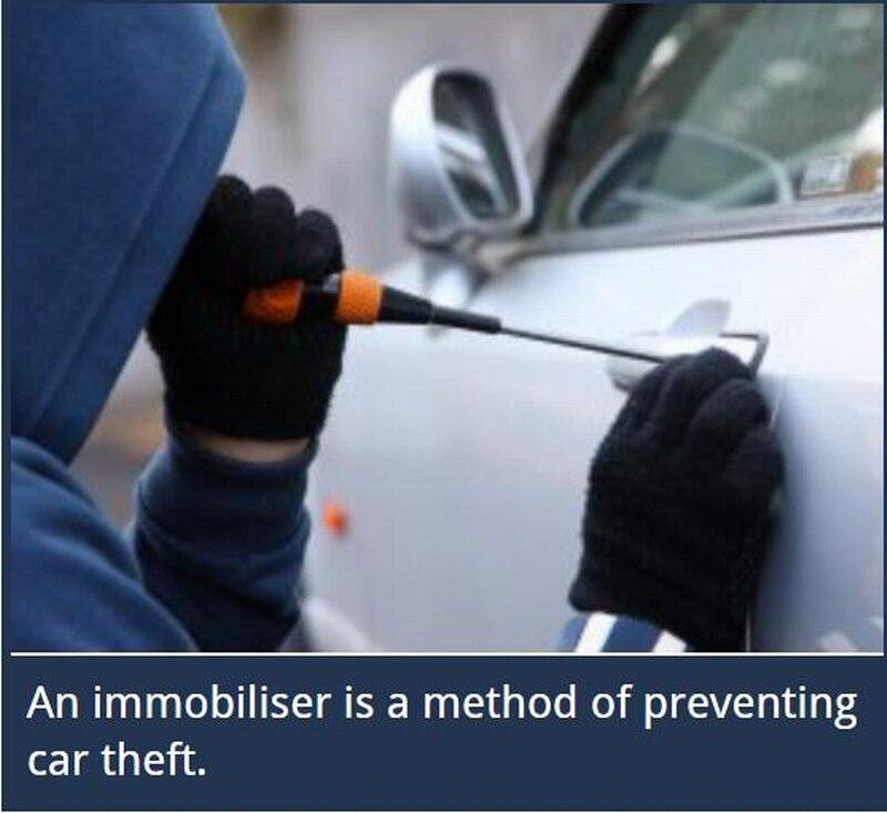 433Mhz 2017 new intelligent automatic recognition long range 12V vehicle anti theft car alarm engine lock