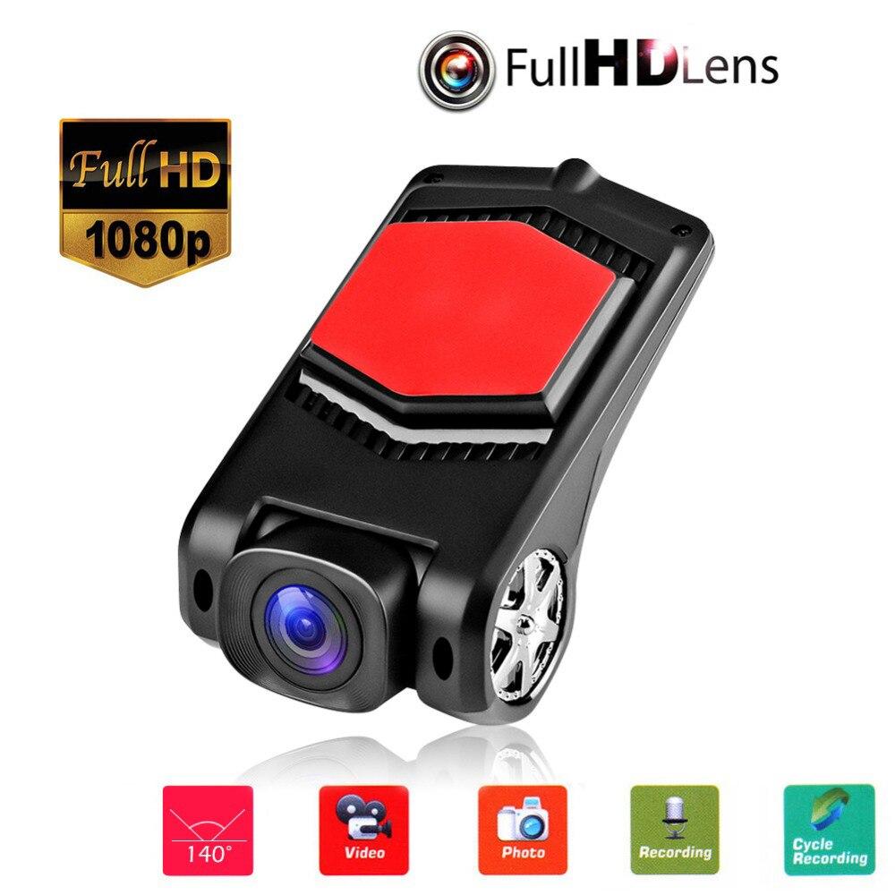 HD USB Car DVR Camera Dash Cam Driving Video Recorder Wide Angle DVRs Register