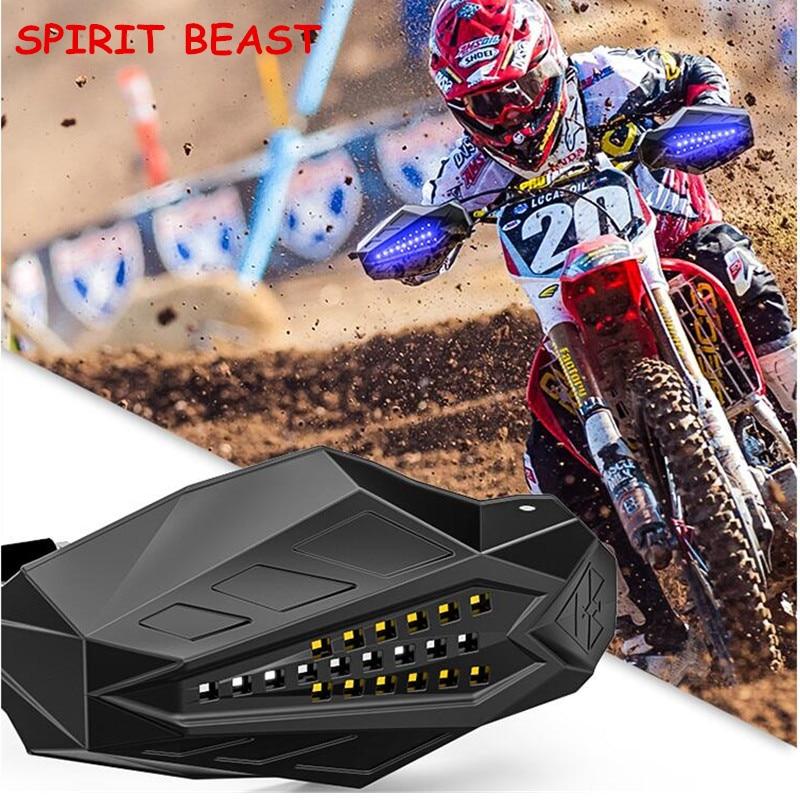 Moto Handguard déflecteur imperméable coupe-vent Motocross Grip Protection SPIRIT BEAST universel pare-brise capot livraison gratuite