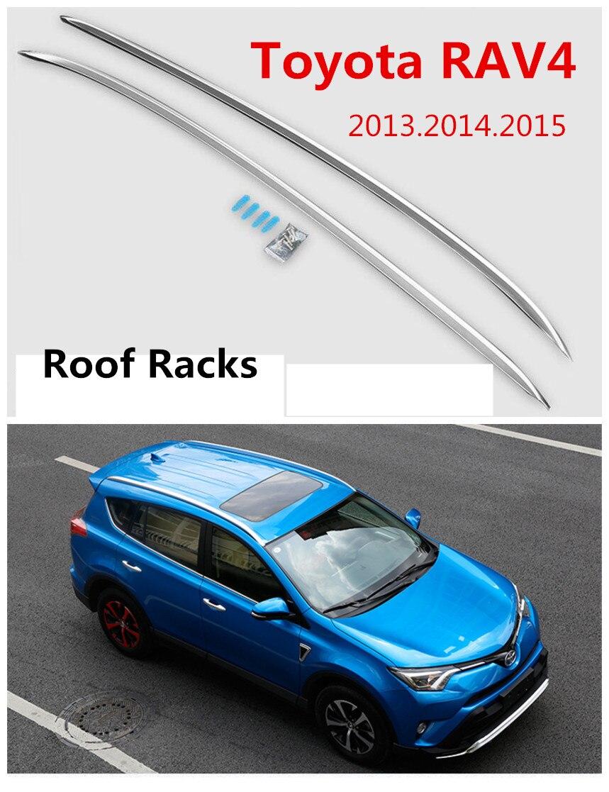 For Toyota RAV4 2013.2014.2015 Auto Roof Racks Luggage Rack High Quality Brand New Aluminium Alloy European style Car Accessorie