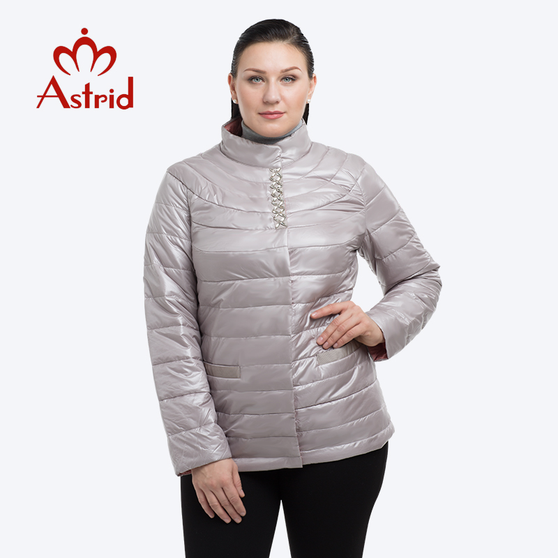 2019 Astrid Winter Jacket Women Diamonds Female Coat Plus Size Women's Jacket Coat Office Ladies Chaqueta Mujer  Ukraine AM-1971