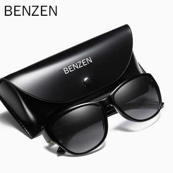 BENZEN Polarized Sunglasses Women Brand Designer Retro Female Sun Glasses For Driving Shades Gafas UV 400 Black  6131 - DISCOUNT ITEM  77% OFF All Category