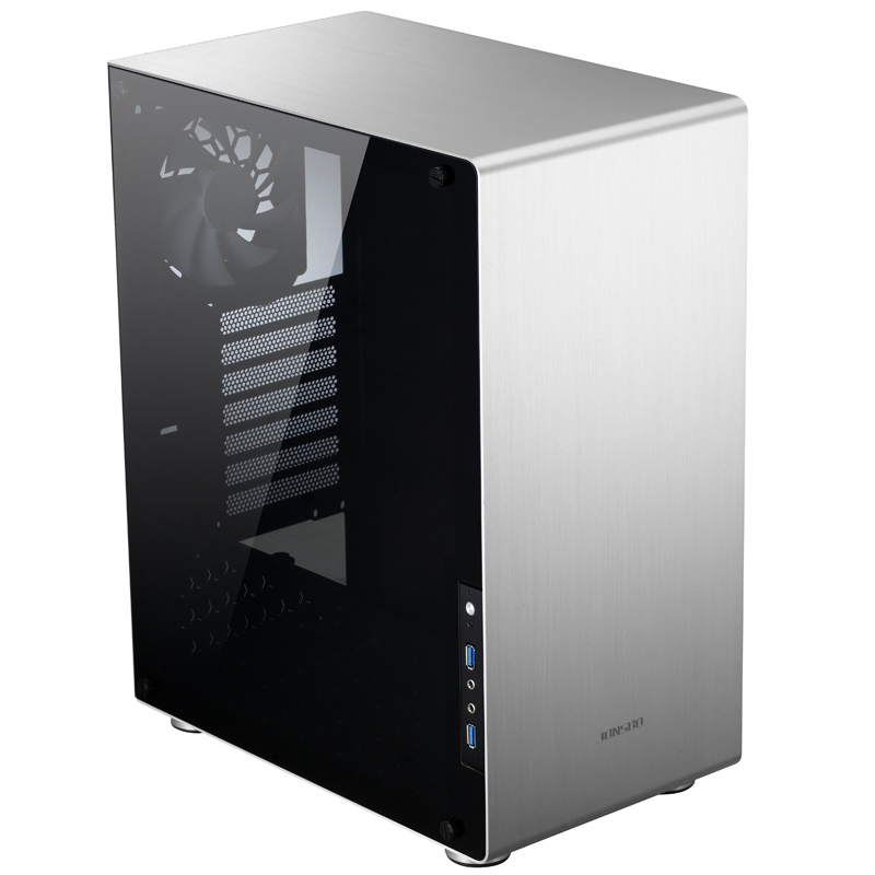 Computer case Jonsbo U4 ATX Aluminum Chassis 5MM thick tempered glass side panels