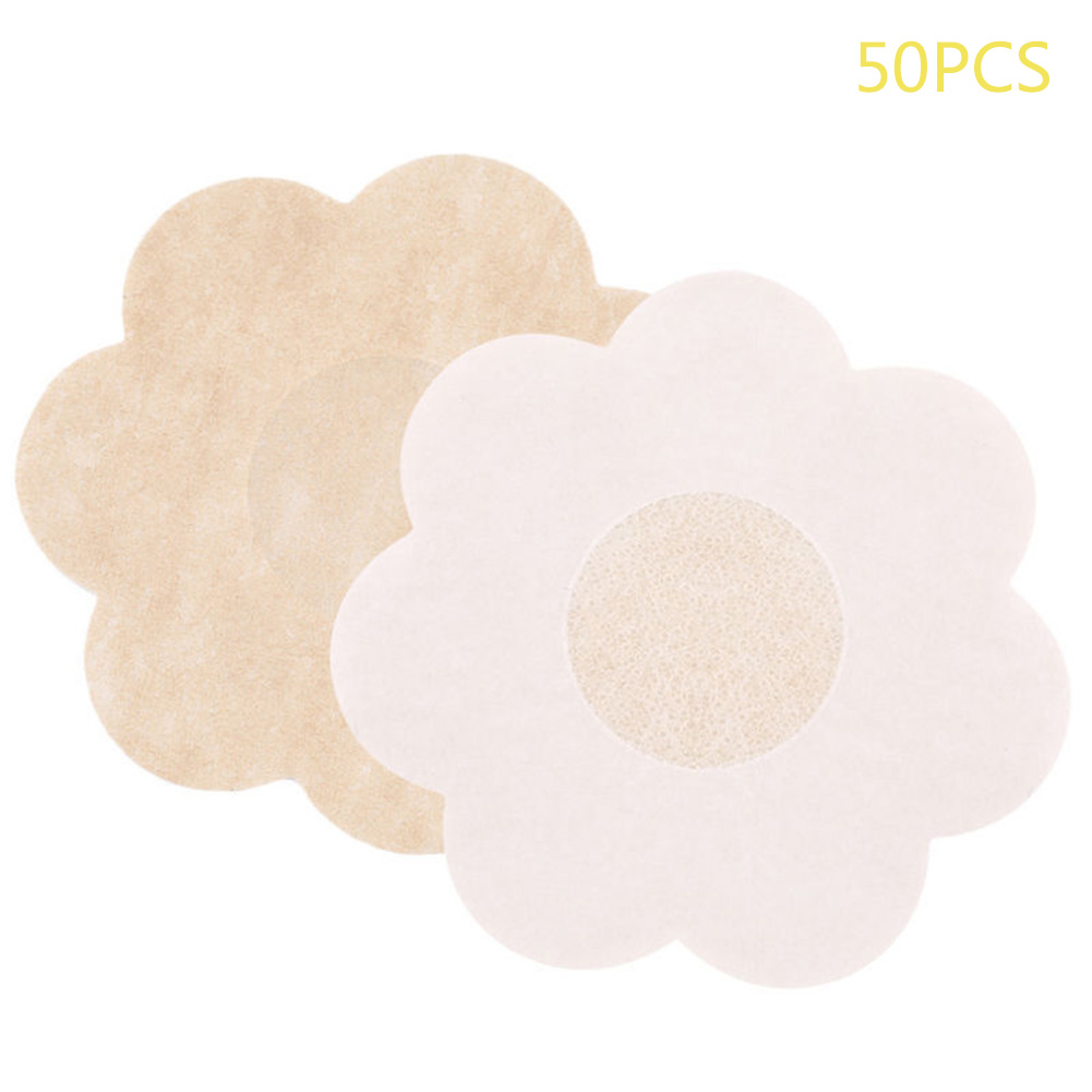 20/50/100 Pcs Disposable Invisible Strapless Bra Pasties Pad Non-woven Fabric Breast Nipple Cover For Party Dress EK-New