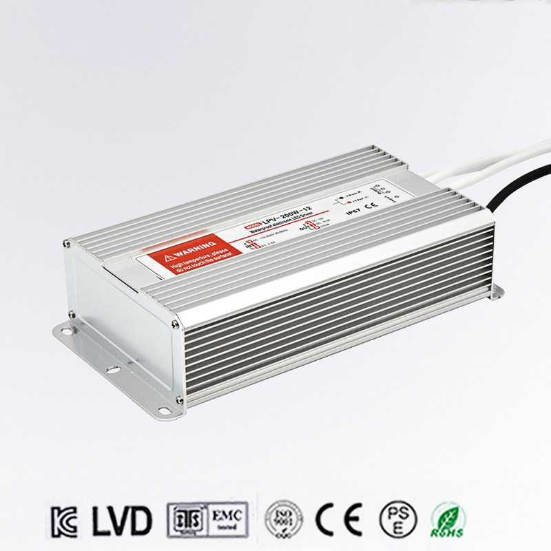 250W AC to DC 36V Waterproof IP67 Electronic Driver outdoor use power supply led strip transformer adapter for underwater light dc 36v 120w led driver ip67 waterproof transformer outdoor light power supply