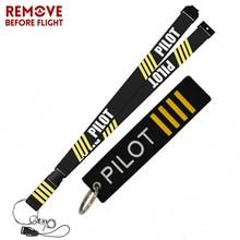 Remove Before Flight  Aviation Gifts Lanyard Keychain Turbo Crew Neck Strap Pilot Anti Static