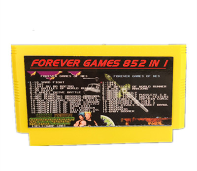 FOREVER DUO GAMES OF 852 in 1  405 447  Game Cartridge for 60Pins game Cart total 852 games 1024MBit Flash Chip in use