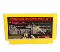 FOREVER DUO GAMES OF 852 in 1 (405+447) Game Cartridge for 60Pins game Cart, total 852 games 1024MBit Flash Chip in use