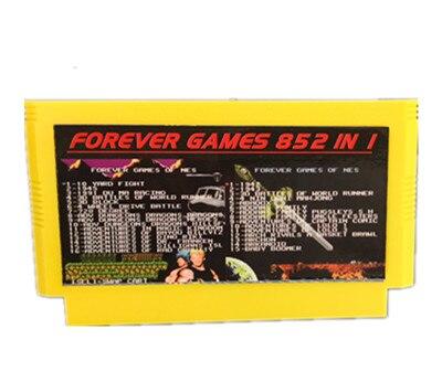 PARA SEMPRE DUO JOGOS DE 852 em 1 (405 + 447) Pinos jogo Do Jogo Cartucho para 60 Carrinho, total de 852 jogos de 1024MBit Flash Chip em uso