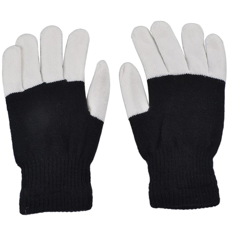 Finger Light Gloves LED Warm Gloves For Lightshow Dance Halloween Christmas Gift Drop Ship