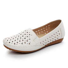2019 summer breathable women loafers shoes soft bottom femal