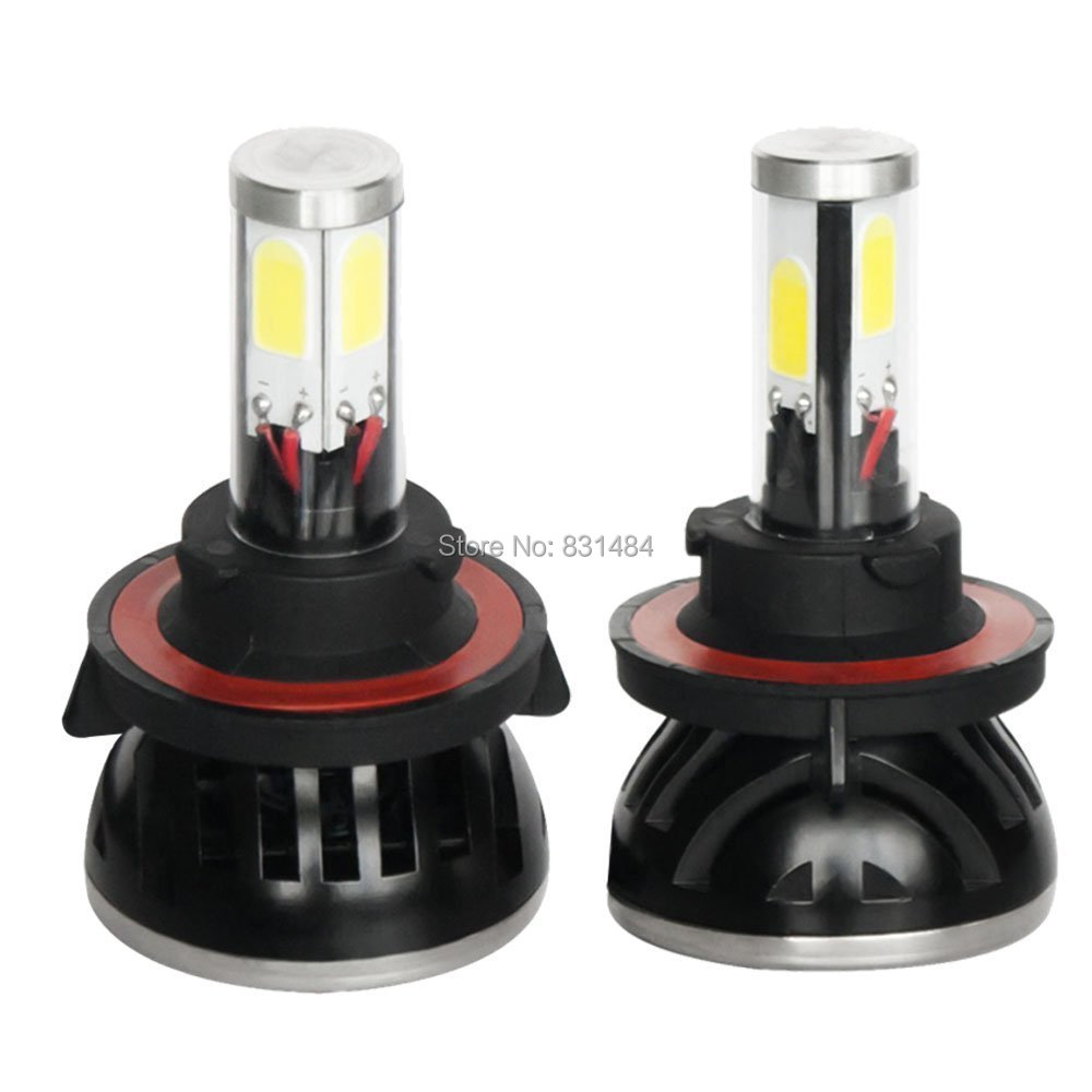 ФОТО 0W 8000lm H13 Hi/Lo 6000K LED Headlight Conversion Bulb Beam Kit H13 LED Head Lamp