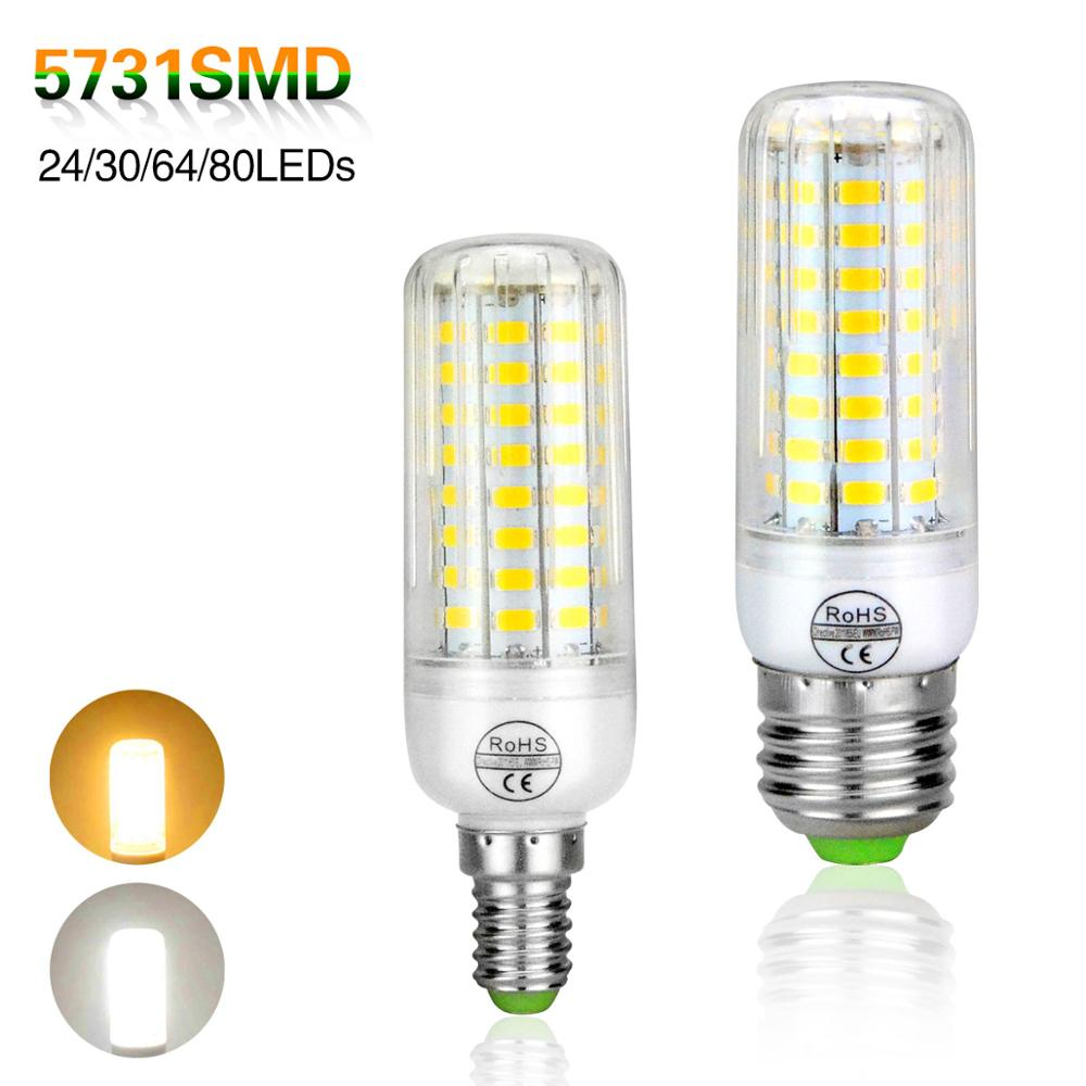 e14 e27 led light bulbs lampada led lamp 220v 5731 smd. Black Bedroom Furniture Sets. Home Design Ideas
