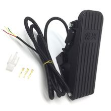 Electric Scooter Foot Pedal Throttle Ebike Electric Tricycle Accelerator Pedal Speed Control Bicycle kit foot pedal accelerator