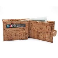 Rustic Natural Cork Wallet For Men Cork Vegan Handmade Casual Wooden Eco Wallet From Portugal BAG