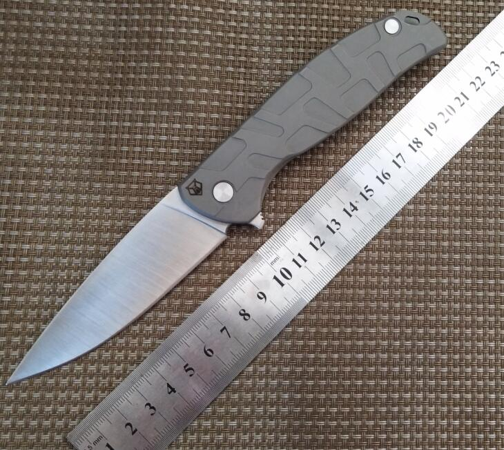 Folding font b Knife b font font b Tactical b font Ball Bearings Flipper 9CR18MOV blade