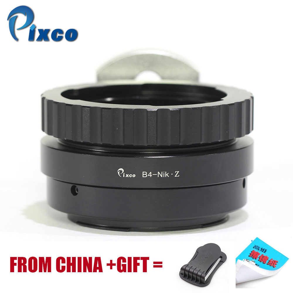 Pixco B4 2/3-For Nikon Z Lens Adapter Suit For 2/3 ENG to for Camera,Adapter Ring Z6,Z7
