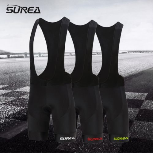 SUREA Men's 9D Padded Bike Shorts Tight Cycling Biking Bicycle Shorts Breathable брюки accelerate tight