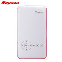 Noyazu D05M6Plus 200 ANSI Mini DLP Portátil Proyector Android 4.4 WiFi Bluetooth Full HD 854*480 Data Show para teléfono de Cine En Casa