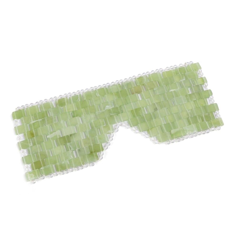 2 größe Auge Massager Natürliche Jade Auge Maske Stein Gesicht Massager Schlaf Maske Jade Auge Maske Für Augen Entspannen Auge pflege Werkzeug Schönheit Werkzeug
