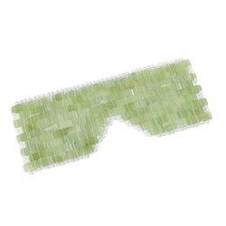 2 tamanho olho massageador natural jade máscara de olho pedra rosto massageador máscara de sono jade máscara de olho para o olho relaxar ferramenta de cuidados com os olhos ferramenta de beleza