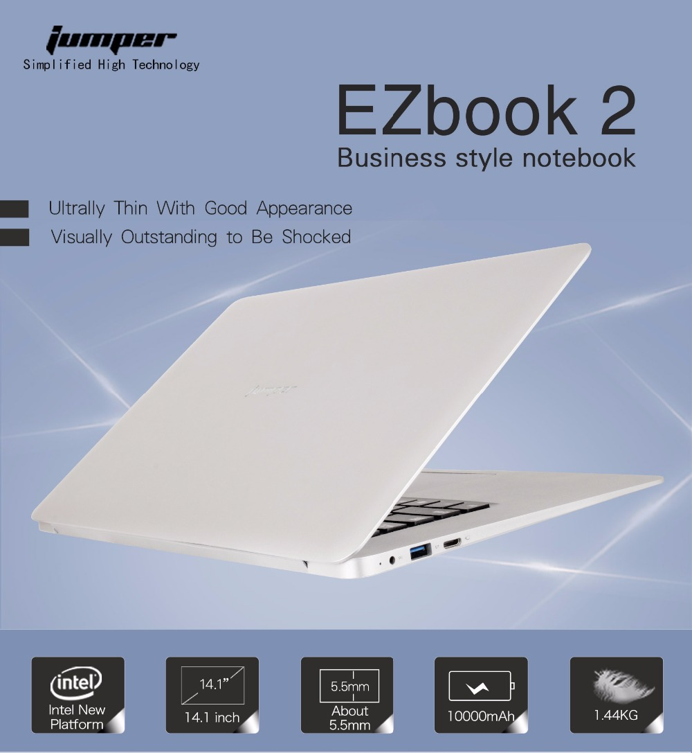 aeProduct.getSubject()  Jumper 14.1 Inch EZbook 2 Extremely Skinny Light-weight Pocket book 1920×1080 FHD Intel Cherry Path Quad Core 4GB+64GB Laptop computer Pc HTB11fM0SXXXXXalXFXXq6xXFXXXH