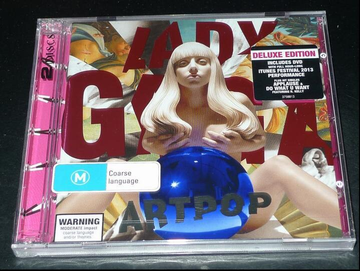 2018 Cd Box Set Marsha Hard Bag Smok Alien New Arrival Rushed Eva Hard Bag Free Shipping: Lady Gaga Artpop Cd Seal