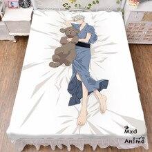 Japanese Anime YURI!!! on ICE Bed sheet Throw Blanket Bedding Coverlet Cosplay Gifts Flat Sheet cd052