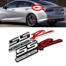 ssr emblem alloy car styling sticker fender rear window trunk chrome decal decoration for chevrolet cruze