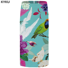 KYKU Brand Bird Skirts Women Animal Floral Rose Party Flower Pencil Butterfly Casual Sexy Ladies Skirts Womens Cool Sundresses kyku brand bird skirts women animal floral rose party flower pencil butterfly casual sexy ladies skirts womens cool sundresses