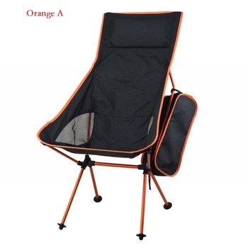 2020 Outdoor Camping Chair Oxford Cloth Portable Folding Camping Chair Seat for Fishing Festival Picnic BBQ Beach Stool With Bag 2