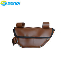 Retro Bicycle Bag Beam PU Leather Saddle Bags Suitable for Road bike Fixed Gear Common